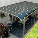Three types of awnings that you can install at your palatial home