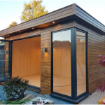3 Interior Aspects of a Garden Office
